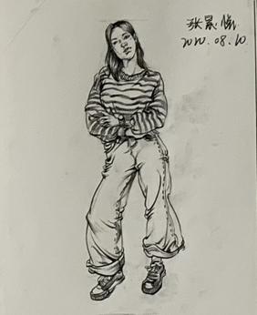 开始在石家庄美术学校学习素描需养成的习惯